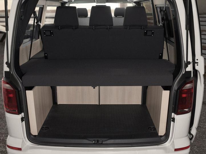 VVW T6 Purist Ausbau mit freischwebendem Kofferraum