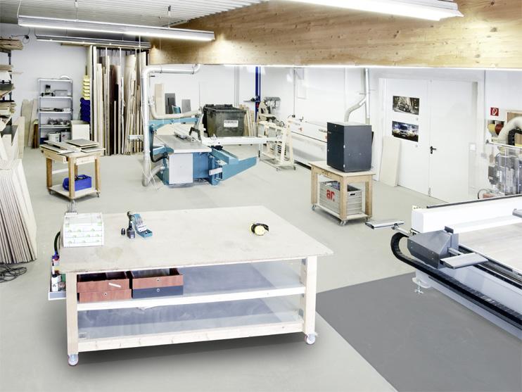 Möbelproduktion direkt vor Ort