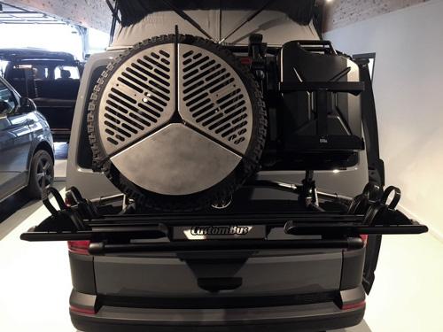 VW T6 Heckträger mit Reserveradhalterung