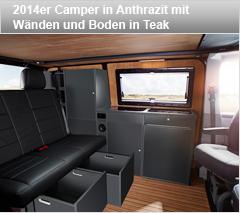 2013er Camper in Birne mit Teakboden