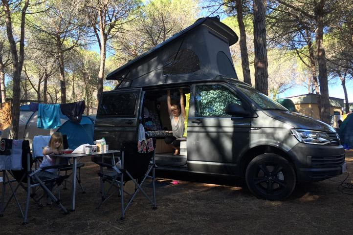 Gemuetlicher Platz zum Campen