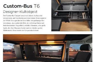 Custom-Bus T6 Designer-Kultobjekt