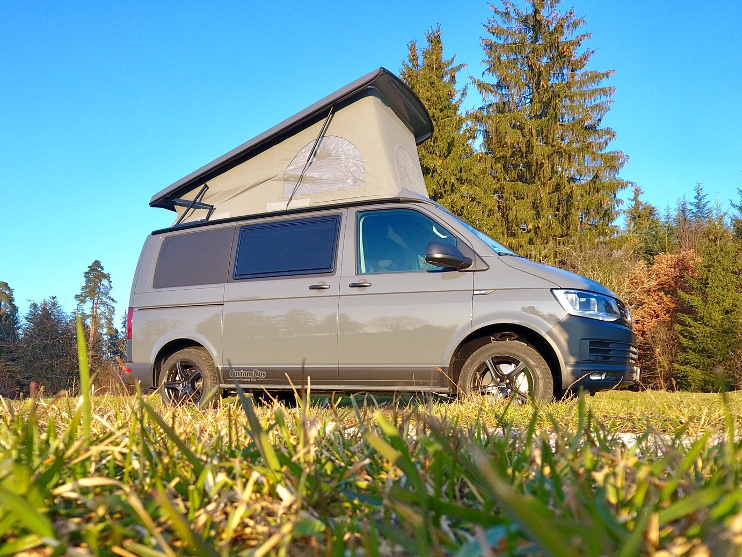 VW T6 autark mit Booster Technik
