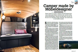 Camper made by Möbeldesigner